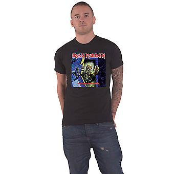 Iron Maiden T Shirt No Prayer for the Dying Band Logo new Official Mens Black