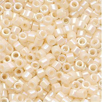 ميوكي ديليكا بذور الخرز، 11/0 الحجم، 6.8 غرام، كريم مبهم AB DB157