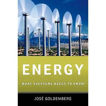 Énergie par Goldemberg &Jose Professeur &Professeur &Programme d'études supérieures en énergie &Université de Sao Paulo