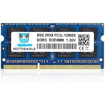 FengChun DDR3L 1600MHz SODIMM PC3L-12800S 8GB 204-Pin Unbuffered Non-ECC 1.35V CL11 2Rx8 Dual Rank