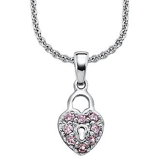 Prinzessin Lillifee - Necklace, Zirconia, Sterling Silver 925