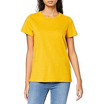 Lee säsongsbetonad grafisk tee T-shirt, gul (gyllene gul Nf), XS Kvinna