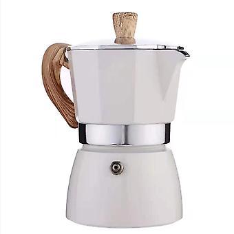 Turkisk aluminium åttkantig kaffekanna