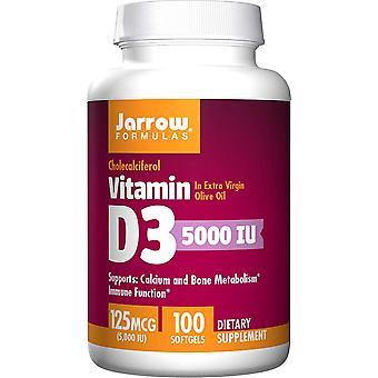 D3-vitamin 5.000Iu 100 Softgels
