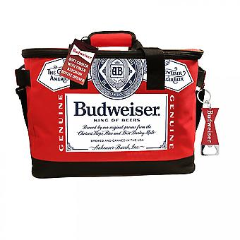 Budweiser Ткань Cooler с открывалка для бутылок