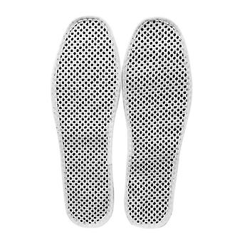 1 Pair Magnetic Therapy Insoles Far Infrared Self-heating Shoe