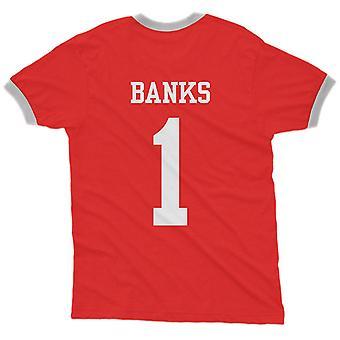 Gordon banks 1 england country ringer t-shirt