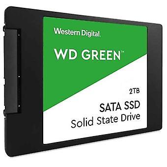 """القرص الصلب الغربي الرقمي WDS200T2G0A 2 تيرابايت 2,5 """"545 ميغابايت / ثانية"""
