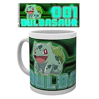 Pokemon Bulbasaur glöd mugg