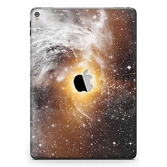 """Golden Space Swirl Full Body Skin For The Ipad Pro (12.9"""" Or 9.7"""""""