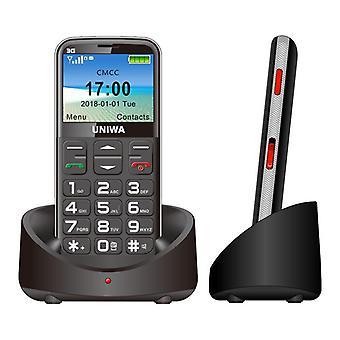 3G candy bar stor knap gammel mobiltelefon lang standby