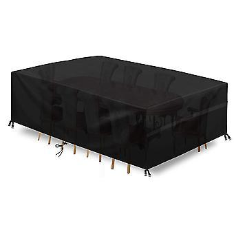Trädgårdsmöbler omslag, utomhus möbler täcka 420d Oxford Patio Table Covers Vattentät, vindtät