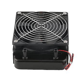 120mm Water Cooling Cpu Cooler Row Heat Exchanger Radiator With Fan For Pc