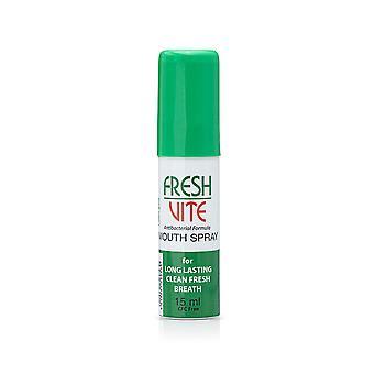 FreshVite bouche Spray pour une respiration propre de plus longue durée 15ML bouche et souffle