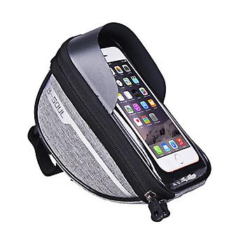 Bike Bag Bicycle Accessories Waterproof Touch Screen Top Front Tube Rack Riding Bags