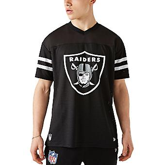 New Era Mesh Jersey Oversized Shirt - Las Vegas Raiders