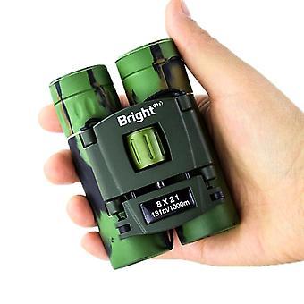8 × 21 Бинокль высокое увеличение низкий свет ночного видения камуфляж водонепроницаемый телескоп