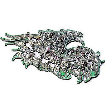 Puzzle puzzle bambini regalo guardiano drago puzzle in legno puzzle 90 pezzi regalo #4732
