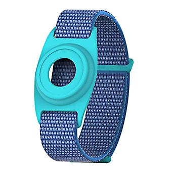 Airtag Watch Bands Case Compatible With Apple Airtag, Silicone Protective Cover With Strap Holder Lightweight For Kids Toddler Baby Children Elders