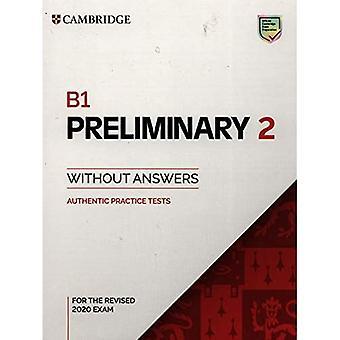 B1 Preliminary 2 Książka studencka bez odpowiedzi: Autentyczne testy praktyczne (testy praktyczne PET)