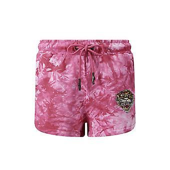 Ed Hardy Los tigre runner short hot pink - hombre