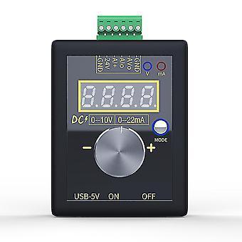 Motherboards analog 0-5v 0-10v 4-20ma signal generator with rechargeable battery pocket adjustable voltage