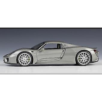Toy cars 1:24porsche 918 spyder concept sports car simulation die casting alloy car model ornaments