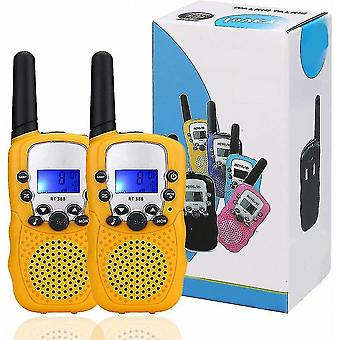 Intercoms two small yellow walkie talkies for kids  small walkie talkies  laptop talkies