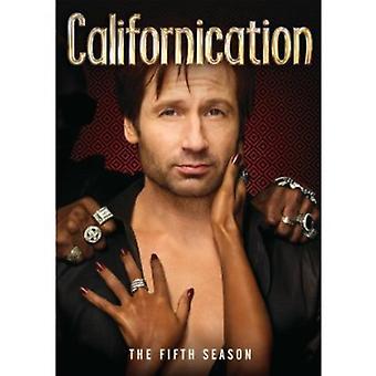 Californication: Season 5 [DVD] USA import