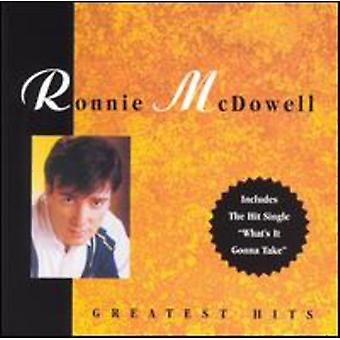 Ronnie McDowell - Greatest Hits [CD] USA import