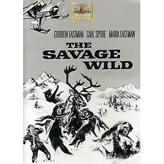 Savage Wild [DVD] USA import