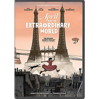 April & the Extraordinary World [DVD] USA import