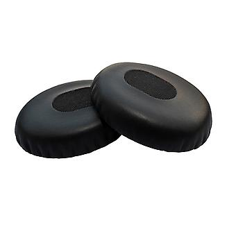 REYTID Replacement Black Ear Pad Cushion Kit Compatible with Bose QuietComfort 3 / QC3 & OE (On-Ear) Headphones - Black
