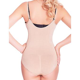 "Mio Shape W1011B Nude Firm Control ""Wear Your Own Bra"" Shaping Bodysuit"