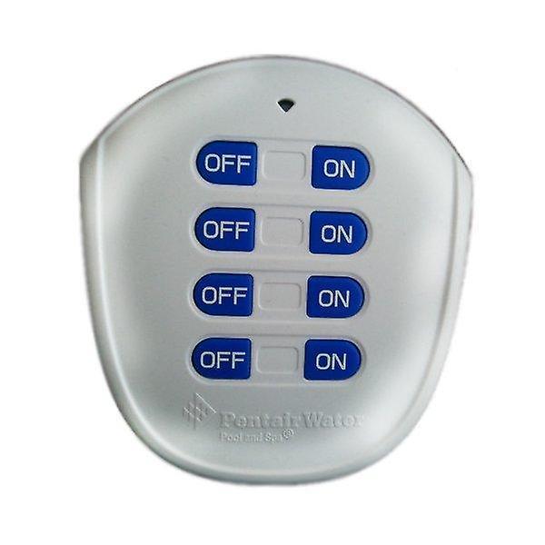 Pentair 521209 ekstern Quicktouch II trådløs ekstern Kit 4-knappen