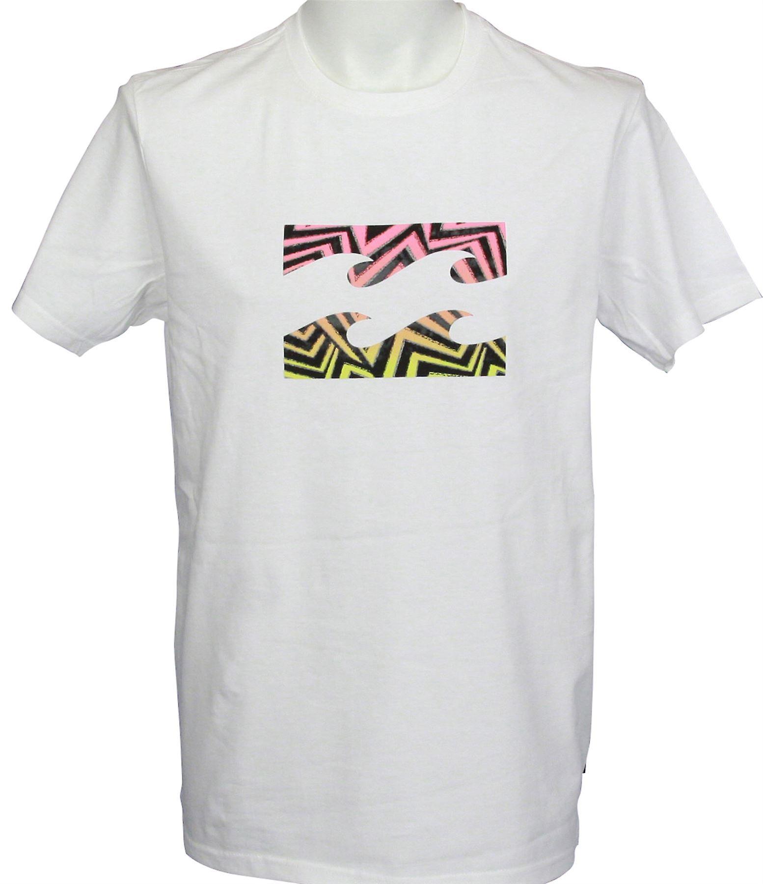 Billabong Men's T-Shirt ~ Team Wave white