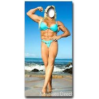 Músculo mujer suplente