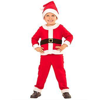 Santa poika (takki housut hattu) Lasten