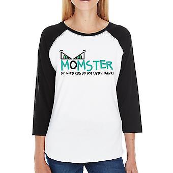Momster Halloween Costume Shirt For Women Halloween Tee For Moms