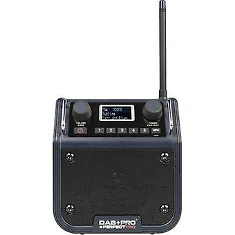 PerfectPro DAB + PRO Workplace RADIO DAB+, FM AUX splashproof, مقاومة للصدمات, ظل أزرق مقاوم للغبار