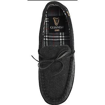 Guinness Herren Moccassin Stil voller Hausschuhe