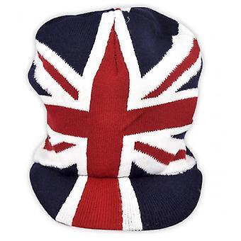 Союз Джек носить Юнион Джек пик шапка