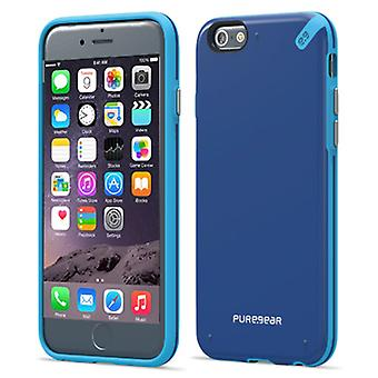 Apple iPhone 6 PureGEAR delgado caso Shell - Pacífico azul