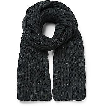 Craghoppers Mens Brice Warm Acrylic Wool Blend Ribbed Scarf
