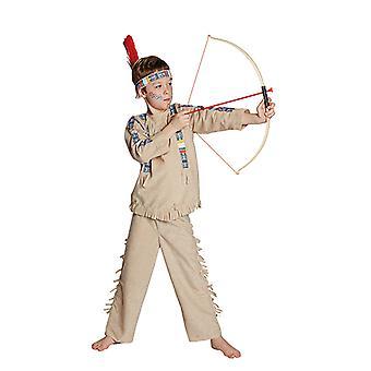 Indisk kostyme Western indiske kostyme for barn