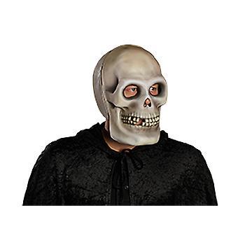 Accessorio di cranio completo viso maschera teschio fantasma Carnevale