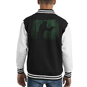 Original Stormtrooper Matrix Silhouette Kid's Varsity Jacket