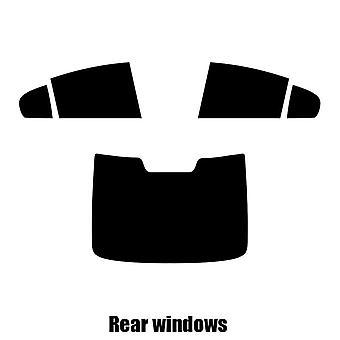 Pre cut fönstret nyans - Volvo S60 4-dörrars Saloon - 2010 och nyare - bakre windows