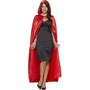 Smiffy de Hooded Cape, rood