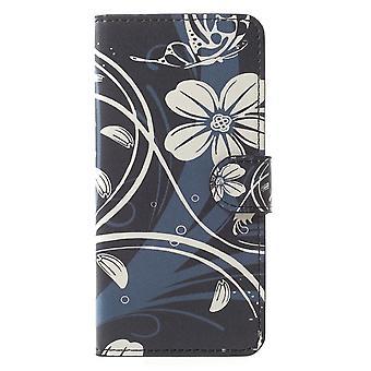 Samsung Galaxy S9 G960 Portafoglio Caso-Pretty Fiore
